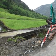 Neubau Gigenbachbrücke Bisisthal