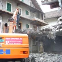 Härter als gedacht war der angetroffene Beton.